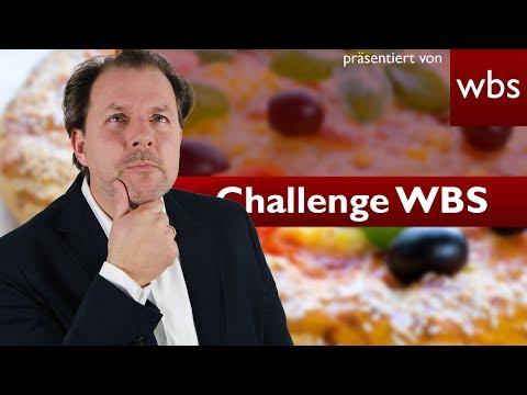 Challenge WBS: Notwehr mit einer Pizza - Wer haftet? | Rechtsanwalt Christian Solmecke