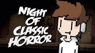NIGHT OF CLASSIC HORROR! | The Pandas VS Classic Horror! (Stream)