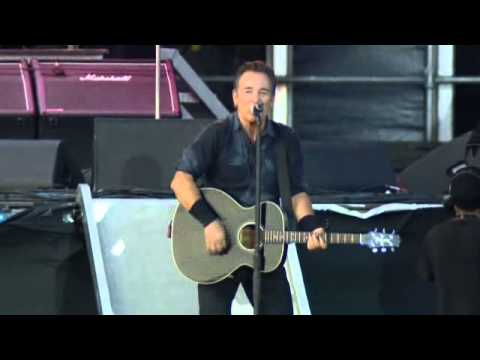 Bruce Springsteen - Working On The Highway (Wrecking Ball Tour London 2013)