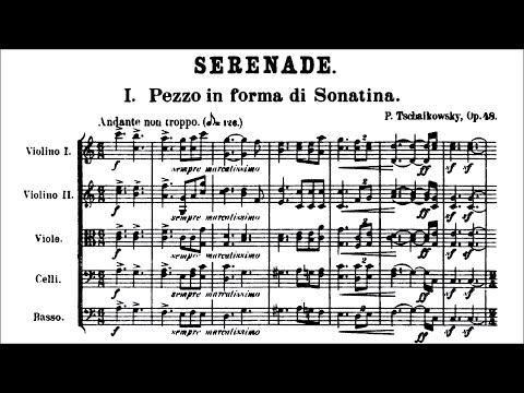 tchaikovsky---serenade-for-strings-op.-48-(score)