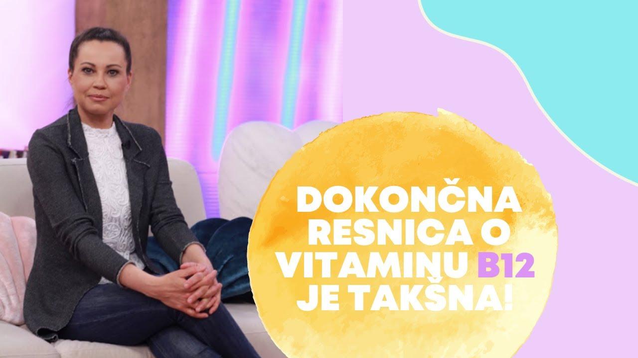 Dokončna resnica o vitaminu B12 je takšna! Jelena Dimitrijević