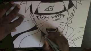 Рисуем Наруто (супер рисунок карандашом)(Подписывайтесь на мой второй канал http://www.youtube.com/channel/UCPqTN4pelMTTlLqwM7T4-3w новый канал ..., 2014-01-28T16:18:32.000Z)