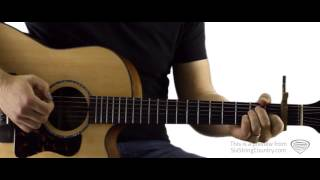 Anywhere With You Jake Owen Guitar Lesson and Tutorial