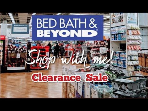 BED BATH & BEYOND /SHOP WITH ME