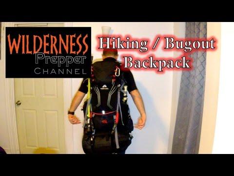 Walmart Bugout Bag and Hiking Backpack - 45L Ozark Trail Montpelier Backpack