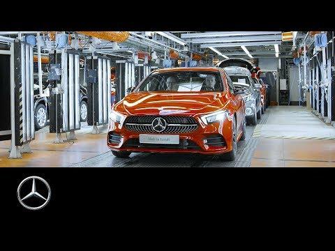 Anlauf der neuen Mercedes-Benz A-Klasse 2018 | 60 Sekunden