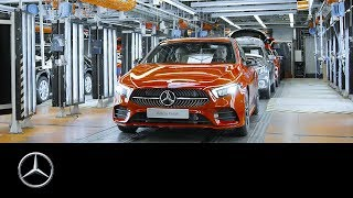 Series Production Start of the new Mercedes-Benz A-Class 2018 | 60 Seconds