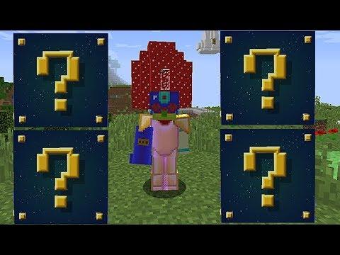 Minecraft Şans Blokları MOD (UZAY GEMİSİ) SİHİRLİ ŞANS BLOKLARI MOD
