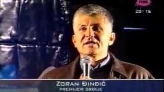 Govor Zorana Djindjica na mitingu povodom Predsednickih izbora