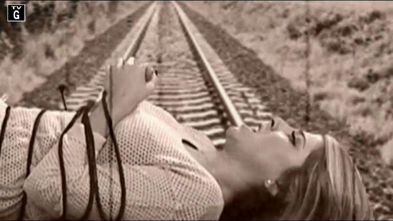 Daniella Monet Tied Up On Tracks - Youtube-4700