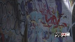 VIDEO: Who will clean Tulsa's graffiti?