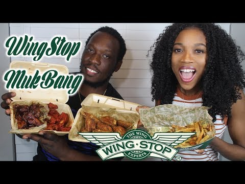 WINGSTOP MUKBANG AND SPECIAL ANNOUNCEMENT 🍗