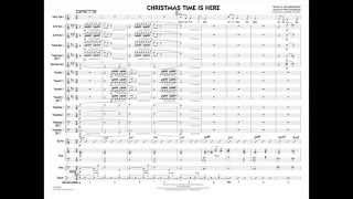 Christmas Time Is Here arranged by Roger Holmes