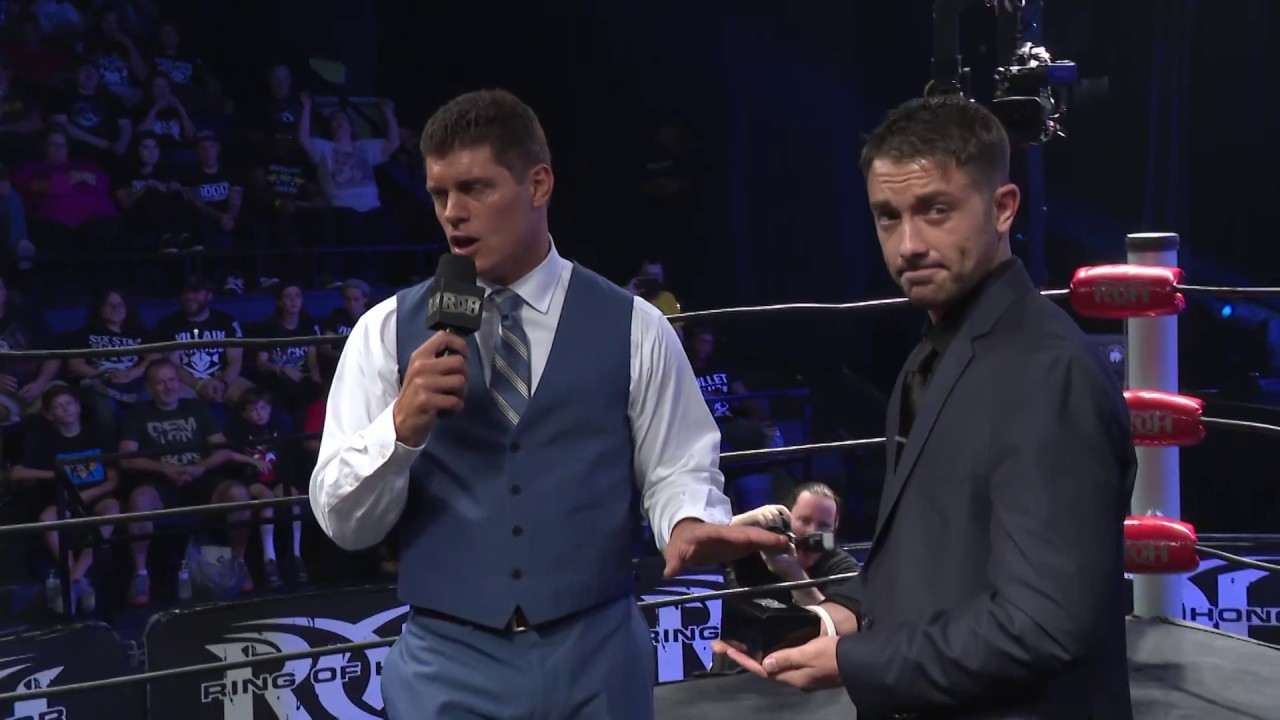 Cody Unveils the Ring of Honor