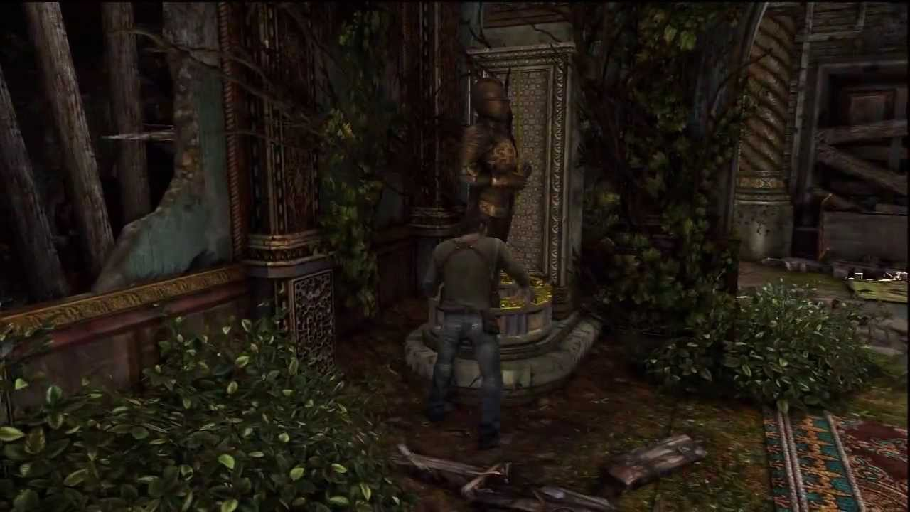 Uncharted 3 Knights Puzzle Youtube