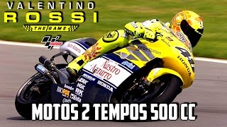 VALENTINO ROSSI THE GAME - CORRIDA COM MOTOS 2 TEMPO 500 CC - [PC-PT]
