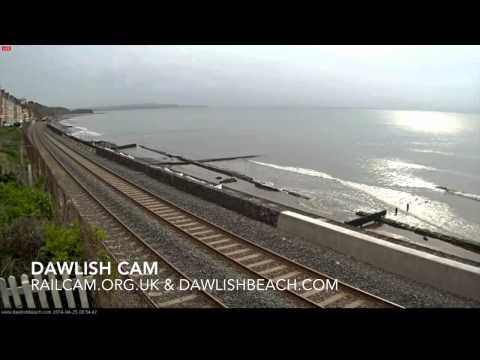 First Great Western 143603 & Network Rail 43014 & 43013 - Dawlish Cam 25th April 2014.
