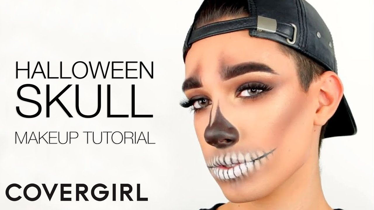 Introducing James Charles Halloween Skull Makeup Tutorial