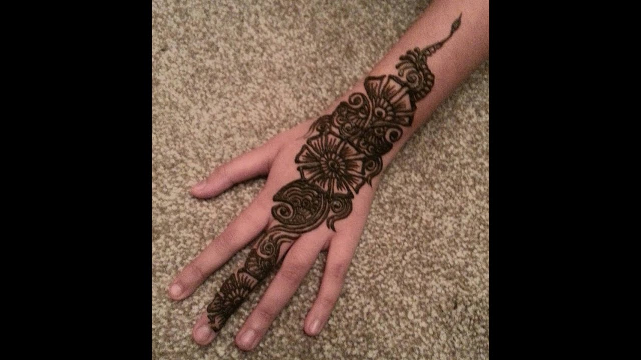 henna design arabian design for eid ramzan karwachauth
