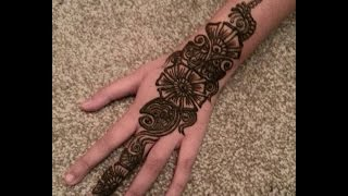 Henna design, Arabian design for Eid, Ramzan, Karwachauth, Navratri- Indian Pakistani Mehendi Tattoo