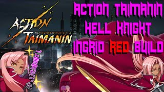 Action Taimanin Hell Knight Ingrid RED Build