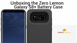 Unboxing Zero Lemon Galaxy S8 Plus Battery Case