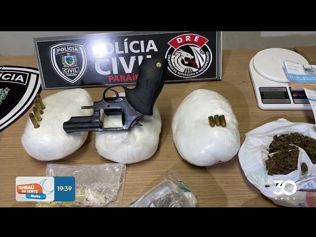 Homem é preso suspeito de tráfico de drogas em manaíra - Tambaú da Gente Noite