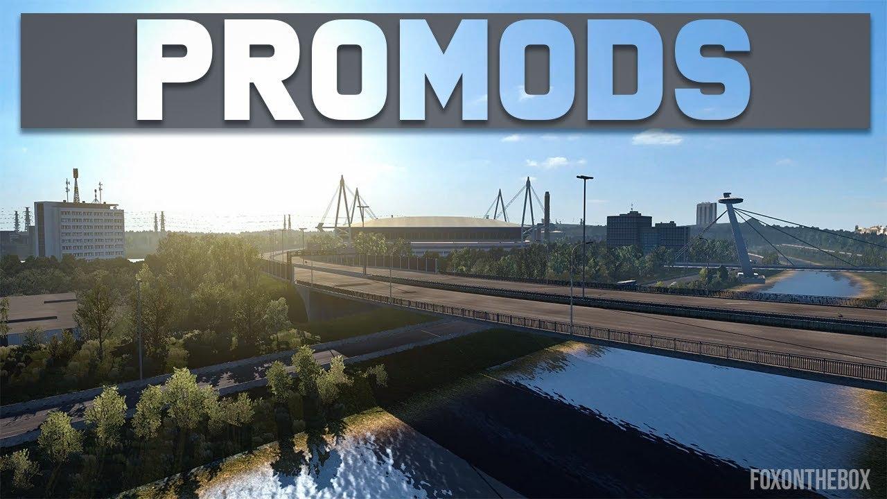 Promods Map 2 33 | Euro Truck Simulator 2 Mod