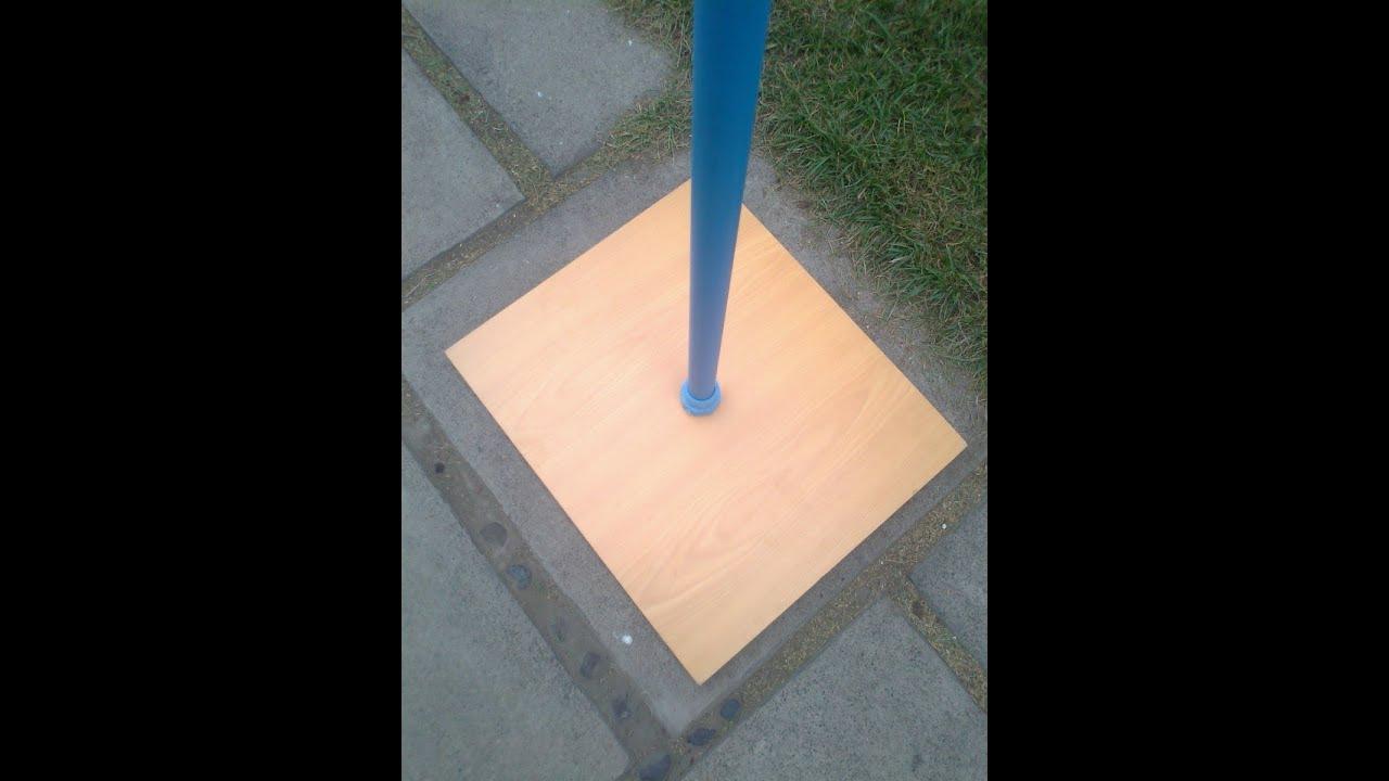 Como crear una base para columnas decoraciones con - Como decorar una columna ...