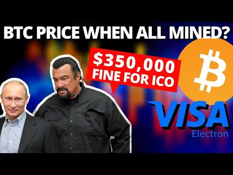 BITCOIN Is The SCARCEST ASSET | Steven Seagal Settles With THE SEC | VISA Enters THE CRYPTO SPACE