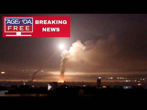 Israel Launches Airstrikes on Syria - LIVE BREAKING NEWS COVERAGE