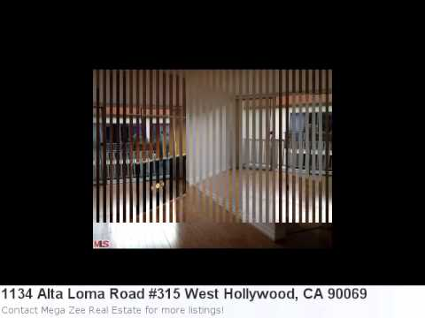 Real Estate In West Hollywood, Ca- 1134 Alta Loma Road #315
