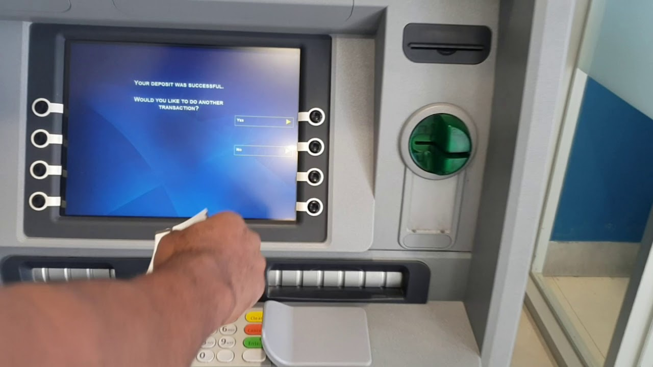 can you deposit cash at any td bank atm
