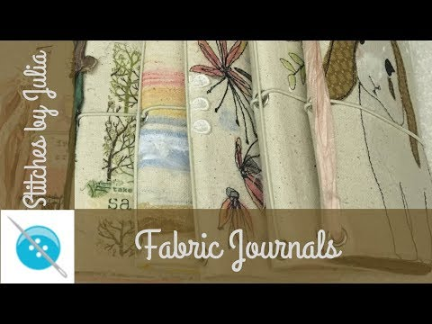 Making Fabric Journal Covers using Peltex 72F by Pellon: A Sewing Tutorial