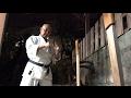 これが沖縄空手のマキワラ突きだ!Okinawan Karate style of Makiwara tsuki