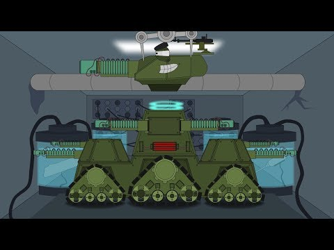 """Ремонт и модернизация КВ-44. Создание монстра КВ-45 """"Терминатор"""" - Мультики про танки"""