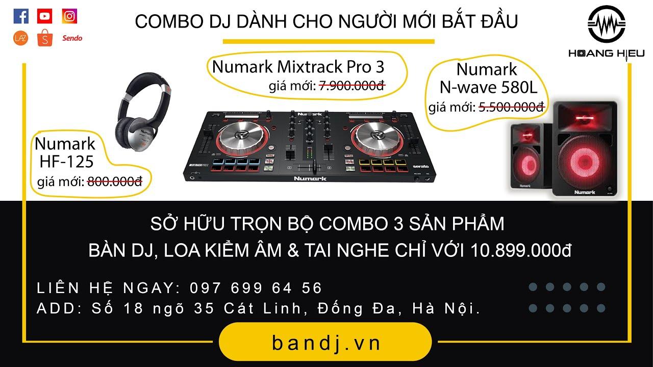 Gói Combo DJ Khởi Nghiệp Dành Cho Người Mới Bắt Đầu