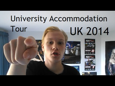 University Accommodation UK: Uni Student Room Tour 2014