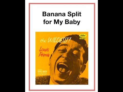 Banana Split for My Baby