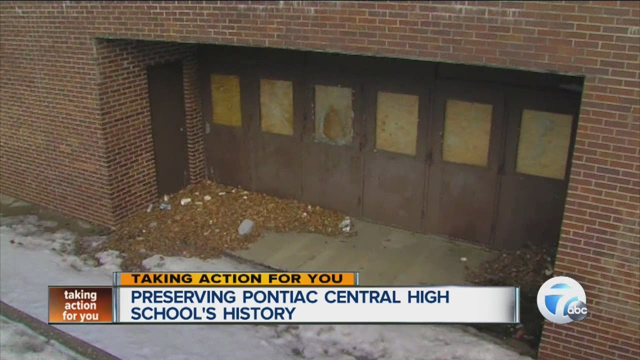 Preserving Pontiac Central High School's history