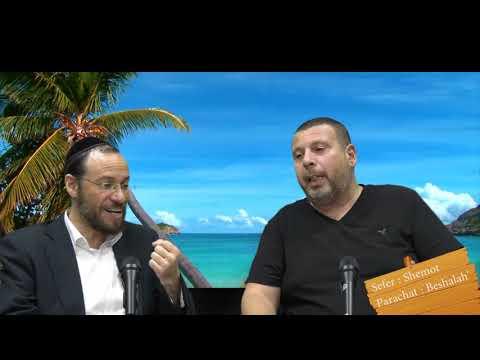 Sefer Shemot : PARACHAT BESHALAH' (16) avec le duo Rav Brand et Fabrice