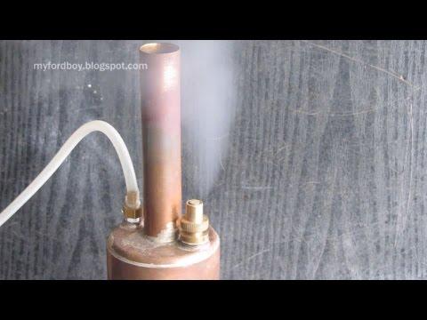 Make a Simple Boiler for Model Steam Engines Part 3 Safety Valve ...