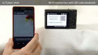 connect android QR