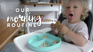 My New Morning Routine | Fit Mom w/ Toddler Edition