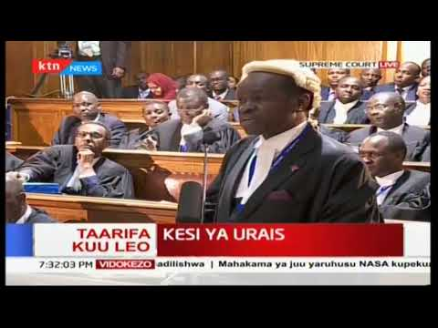 PLO Lumumba's time in court at the Supreme Court