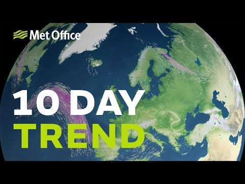 10 Day Trend – High Pressure Ebbs Away 15/05/19