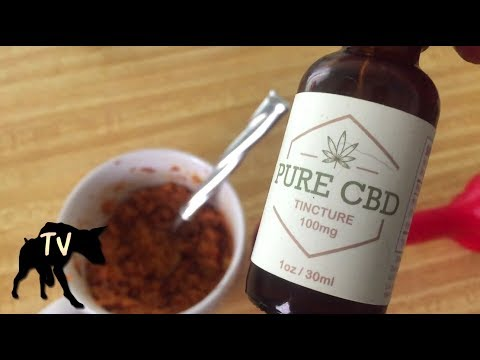 Anxiety reducing raw dog treats with | CBD Oil for Dogs