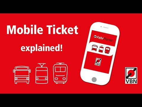 How to book Tram, Bus or Train tickets mobile / Mobile Ticket explained
