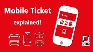 How to book Tram, Bus or Train tickets mobile / Mobile Ticket explained thumbnail