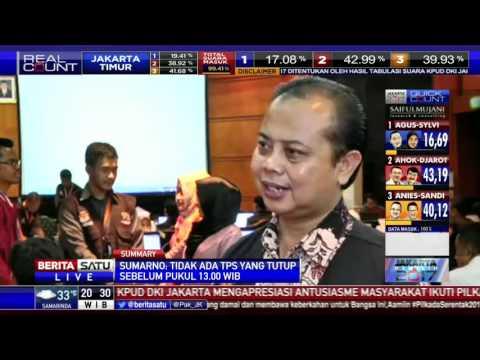 Penjelasan Ketua KPU DKI Terkait Penghitungan Surat Suara